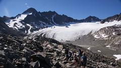 Ötztaler Alpen, Basiskamp met gletsjertocht