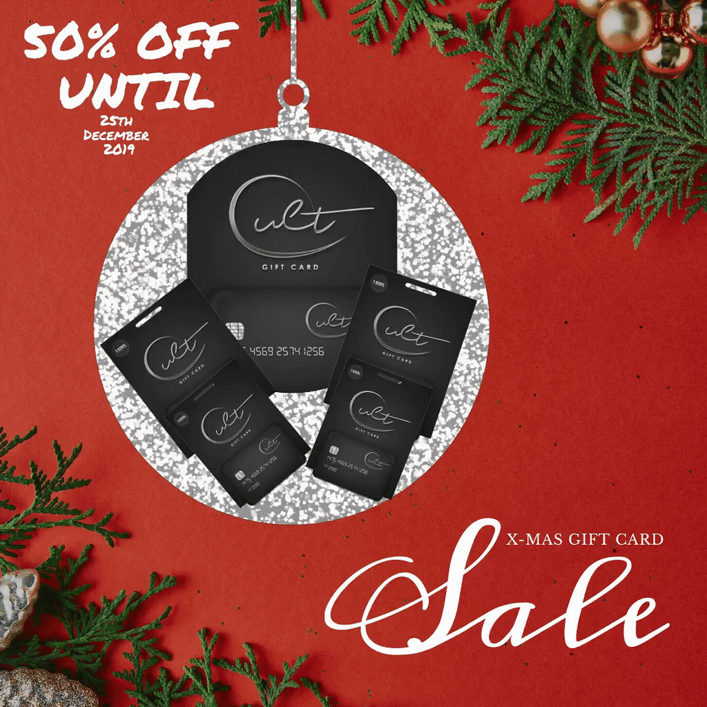Xmas Gift Card Sale 50% Off