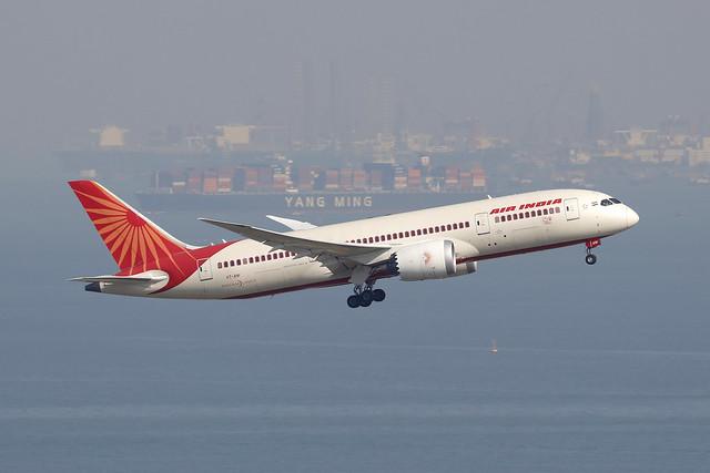 VT-ANI, Boeing 787-8, Air India, Hong Kong