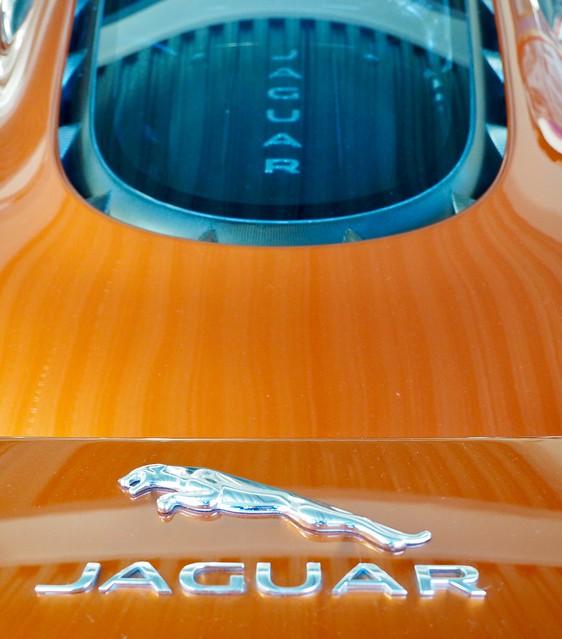 Jaguar C-X75 at British Motor Museum