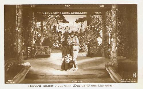 Richard Tauber and Hella Kürty in Das Land des Lächelns (1930)