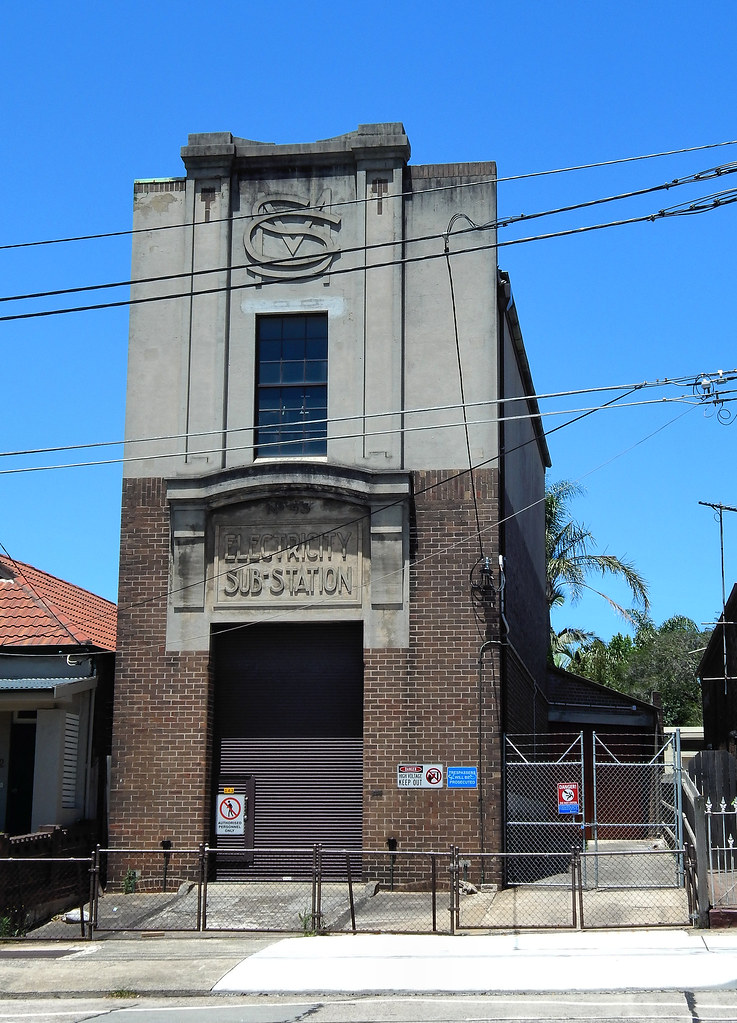 Electricty Sub Station No 43, Sydenham, Sydney, NSW.