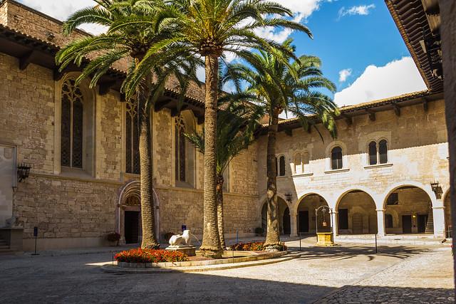 Spain - Mallorca - Palma de Mallorca - La Almudaina Royal Palace