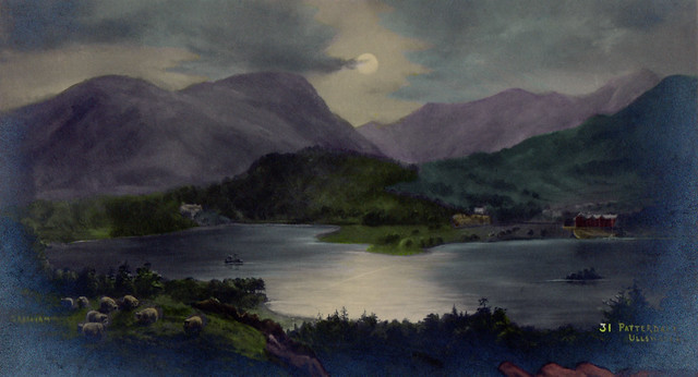 Ullswater Postcard, Late 19th/Early 20th Centuries