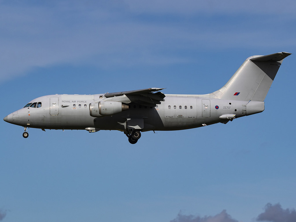 Royal Air Force | British Aerospace BAe-146-200QC C3 | ZE707