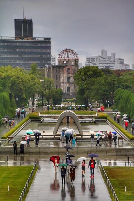 Hiroshima's Peace Memorial Park (平和記念公園, Heiwa Kinen Kōen)