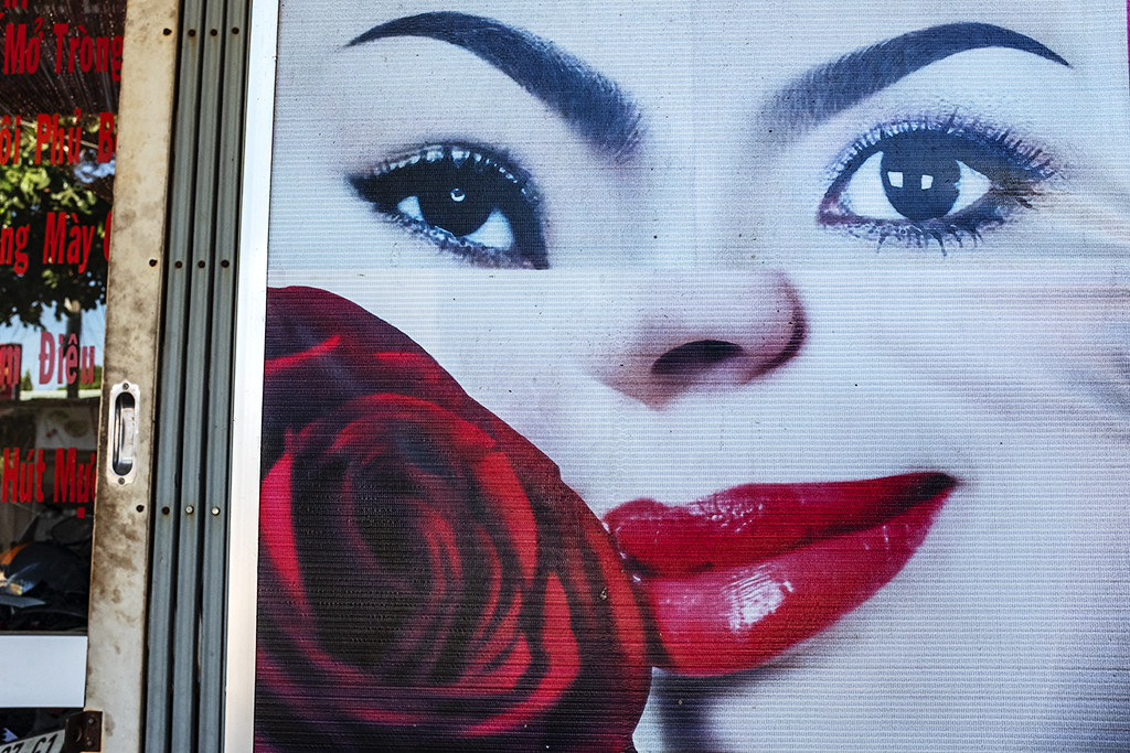 Eye, eye, lips--Vung Tau
