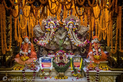 ISKCON Vrindavan Deity Darshan 09 Dec 2019