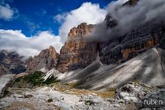 Alte Vie delle Dolomiti, Huttentocht
