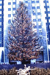 Found Photo - Rockefeller Center Christmas Tree