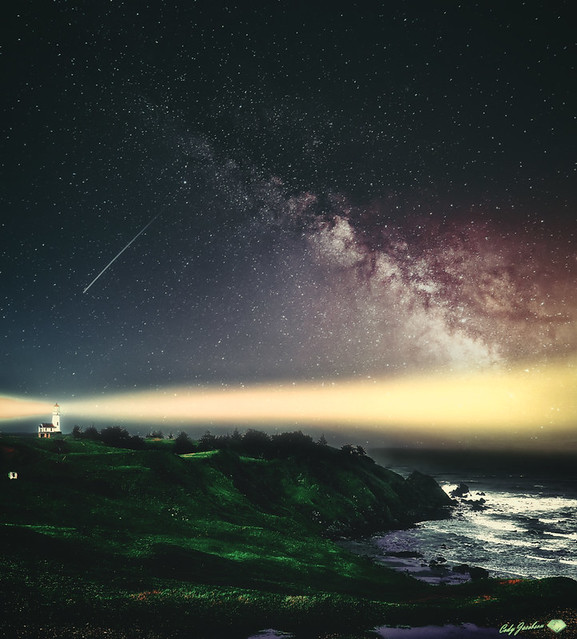 HDR-CAPE-BLANCO-LIGHTHOUSE-WIDE ANGLE-DRAMATIC-NIGHT LIGHT-COLOR-POP-2018-1920WX2160H-96PPI---- © Cody Jacobson-ZEN MOUNTAIN MEDIA all rights reserved