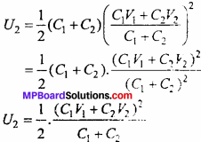 MP Board 12th Physics Chapter 2 Electrostatic Potential and Capacitance Important Questions - 31