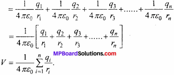 MP Board 12th Physics Chapter 2 Electrostatic Potential and Capacitance Important Questions - 25