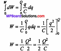 MP Board 12th Physics Chapter 2 Electrostatic Potential and Capacitance Important Questions - 17