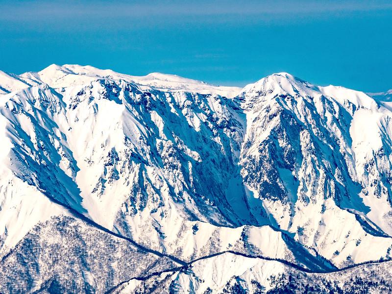 冬の谷川岳