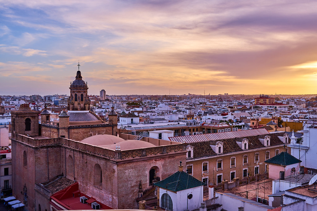 Sunset in Seville
