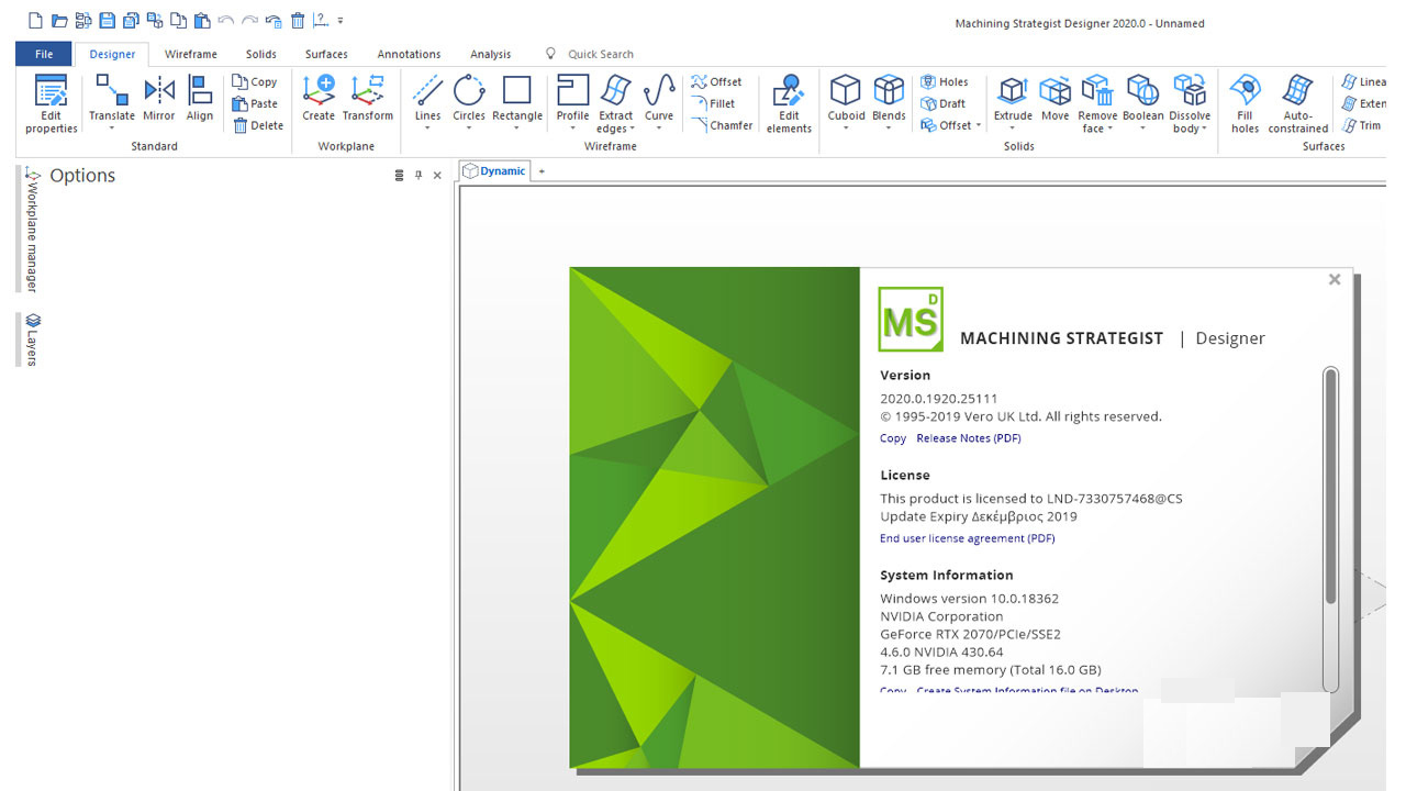 Working with Machining Strategist Designer 2020.0.1935 full