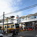 Another E233 Series Train and Railroad Crossing at the End of Nanbu Line Kashimada Station 6