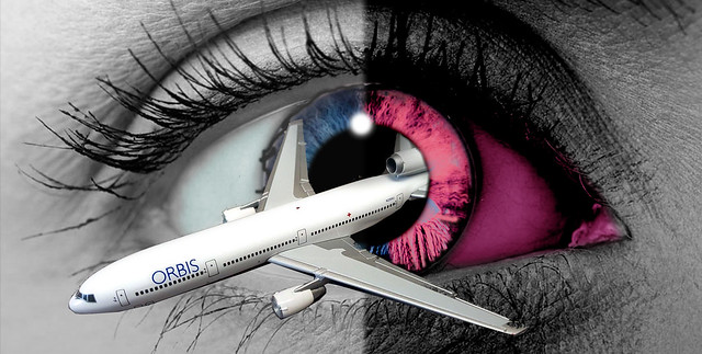 ORBIS THE AMAZING FLYING EYE SURGERY