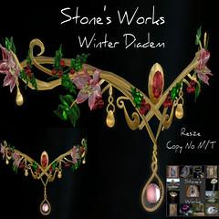 Winter Diadem Stone's Works