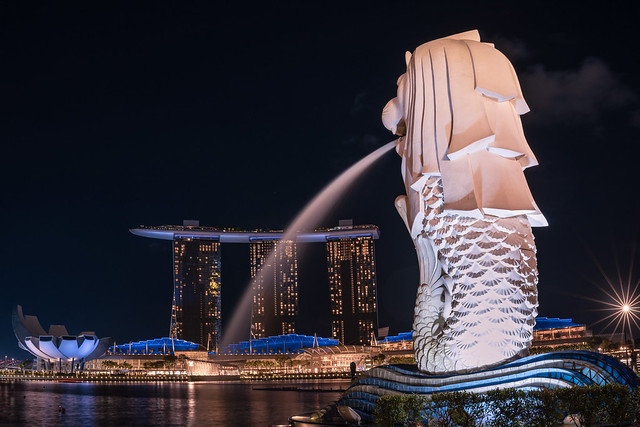 Singapore - mermaid and lion