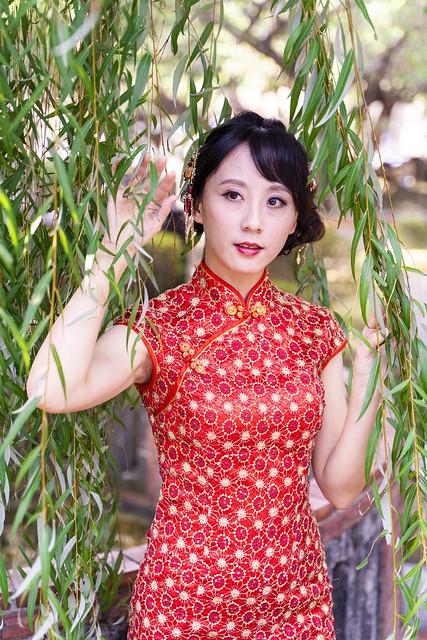 林家花園旗袍外拍 - Ying