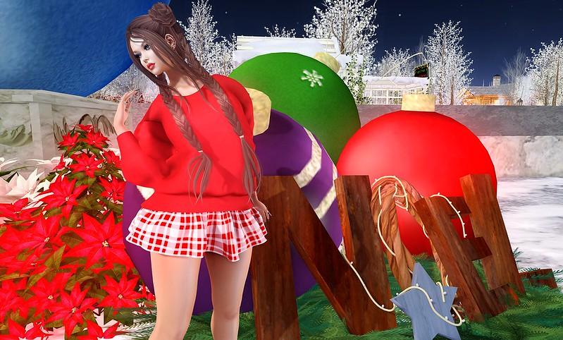 2019 SL Christmas Expo Exclusive Item - Ari-Pari Pretty in Plaid
