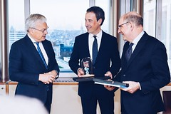 2019.11.30|Overdracht bevoegdheden Reynders aan Goffin