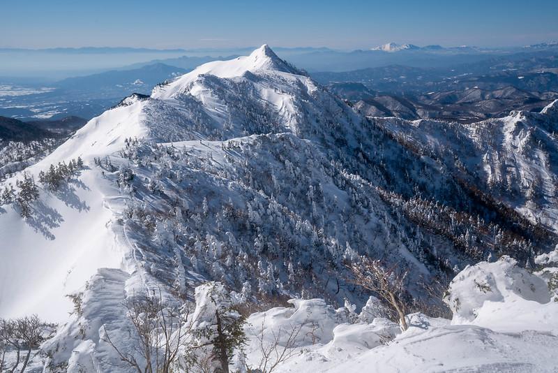標高2020mの剣ヶ峰山