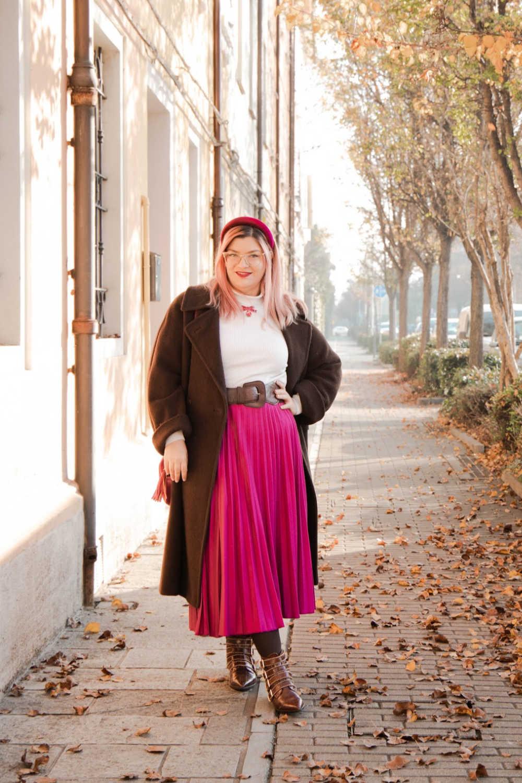 Outfit curvyplus size, come indossare la gnna in inverno (11)
