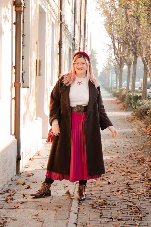 Outfit curvyplus size, come indossare la gnna in inverno (8)