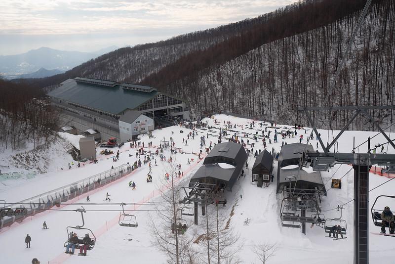 川場スキー場のレストハウス