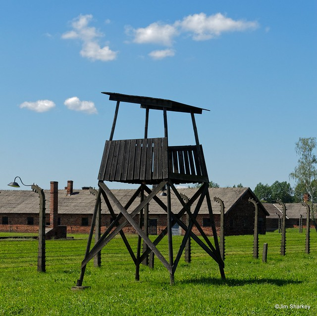 Auschwitz Birkenau guard tower