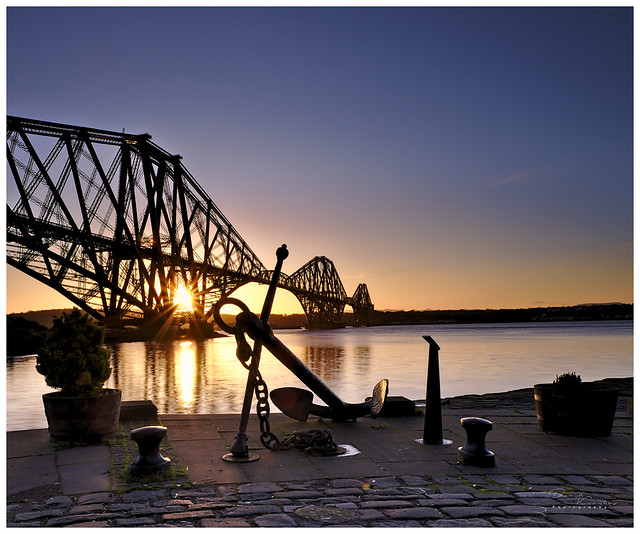 Sunrise in North Queensferry