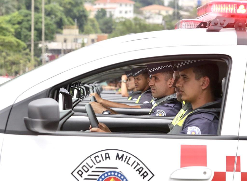 Entrega de viaturas à PM e Corpo de Bombeiros