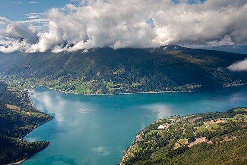Nordfjord from Mount Hoven