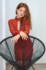 Dress portrait