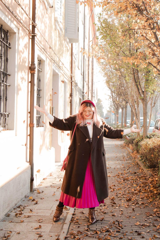 Outfit curvyplus size, come indossare la gnna in inverno (6)