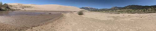 Panoramic Shot at Castle Creek. From History Comes Alive at the Great Sand Dunes National Park