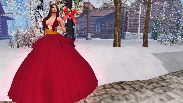 2019 SL Christmas Expo Exclusive Item Changed Seasons Angelica Gown