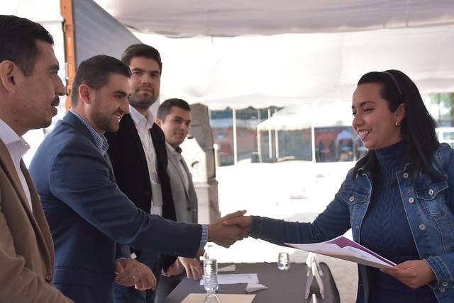 Entrega de Reconocimientos a Jovenes Emprendedores de Tlajomulco