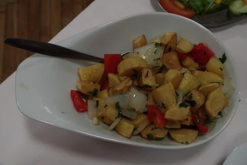 Portugiesische Bratkartoffeln (als Beilage für zwei)