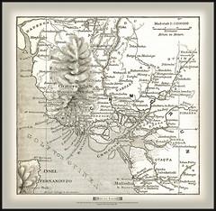 s0758 7389 MeyA4B3 Karte von Camerun b