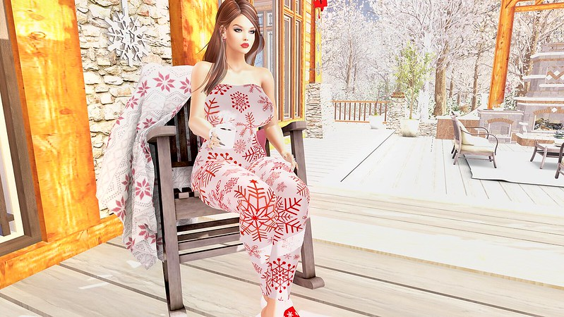 2019 SL Christmas Expo Exclusive Item Changed Seasons Christmas Morning Jumpsuit