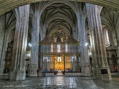 Interior Iglesia del Monasterio de San Benito el Real-Valladolid