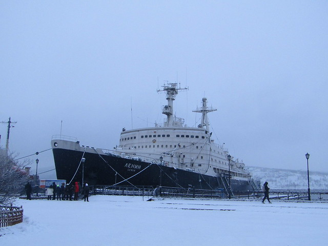 the first atomic ice-breaker (now museum)