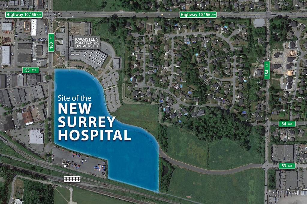 A second hospital is coming to Surrey.