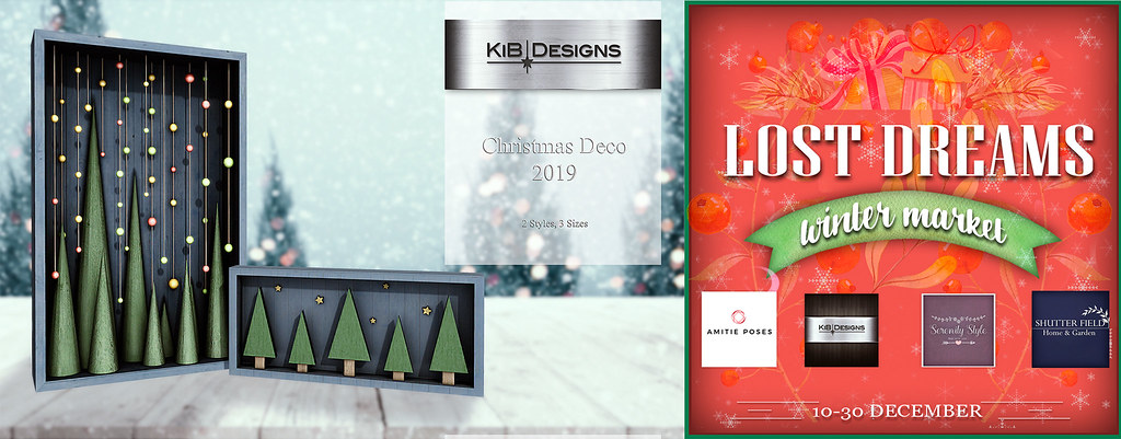 KiB Designs - Lost Dreams Winter Market