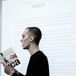 Сен 16 2019 - 19:39 - 16 сентября 2019, Литературный институт имени А.М. Горького. Поэтическое противостояние.  Фото: Арина Депланьи