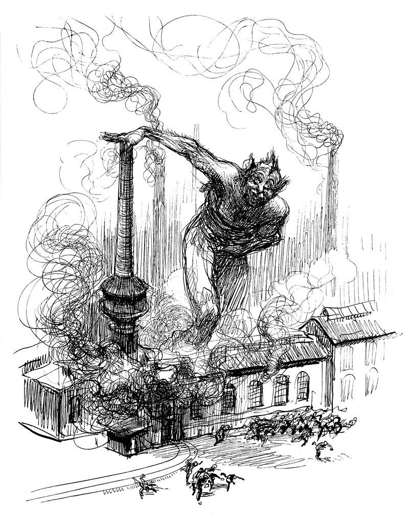 Heinrich Kley - Sabotage